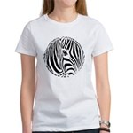 Zebra Art Women's T-Shirt