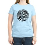 Zebra Art Women's Light T-Shirt