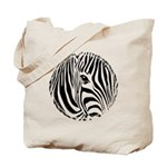 Zebra Art Tote Bag