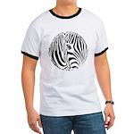 Zebra Art Ringer T