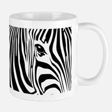 Zebra Art Small Mugs