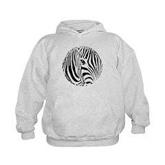 Zebra Art Hoodie
