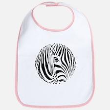Zebra Art Bib