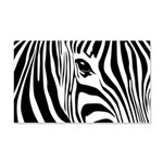 Zebra Art 22x14 Wall Peel