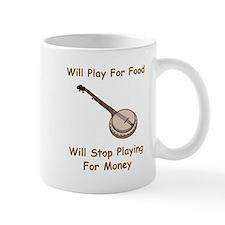 Banjo Stop Playing For Money Mug