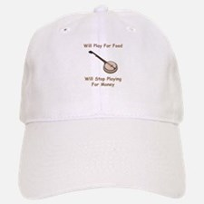 Banjo Stop Playing For Money Baseball Baseball Cap