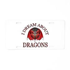DRAGONS R GOOD Aluminum License Plate