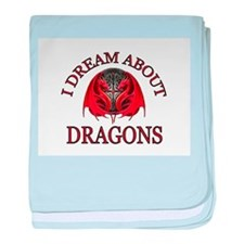 DRAGONS R GOOD baby blanket