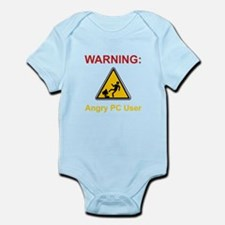 Angry PC User Infant Bodysuit