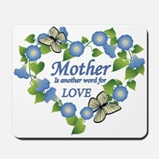 Mother's Love Heart Mousepad