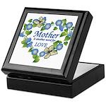 Mother's Love Heart Keepsake Box