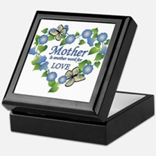 Mother's Love Heart Keepsake Box