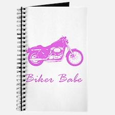 Unique Biker babe Journal