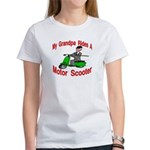 Grand Pa Rides A Motor Scoote Women's T-Shirt