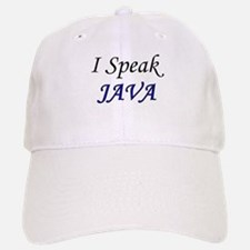 """I Speak Java"" Baseball Baseball Cap"