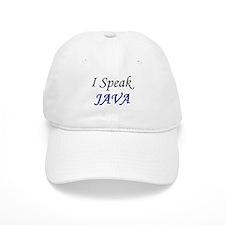 """I Speak Java"" Baseball Cap"