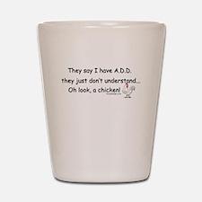 ADD Chicken Shot Glass