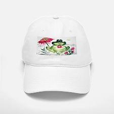 """Sunny Day Frog"" Baseball Baseball Cap"