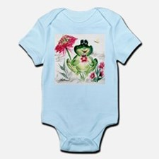 """""""Sunny Day Frog"""" Infant Creeper"""