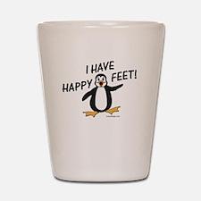 Happy Feet Penguin Shot Glass