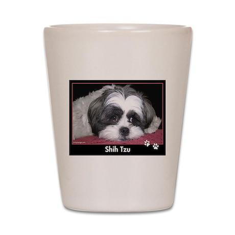 Shih Tzu Calendar Shot Glass