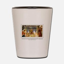 Christ the Lord Shot Glass