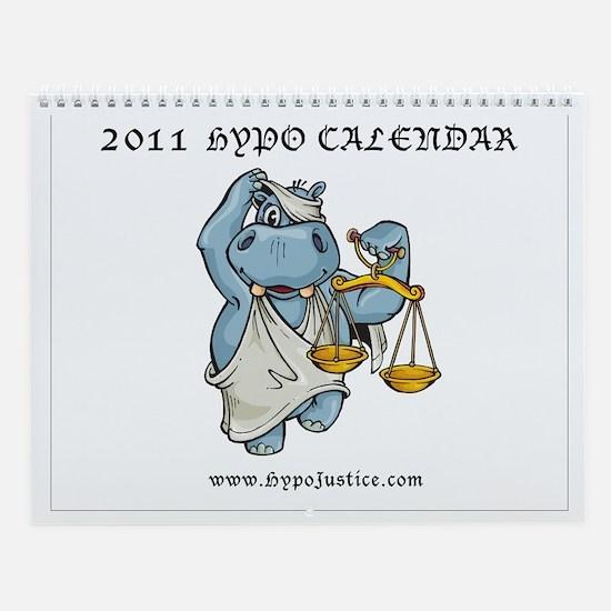 Hypo Justice Wall Calendar