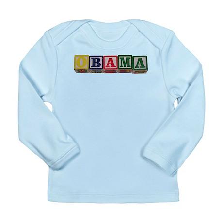 Babies for Obama Long Sleeve Infant T-Shirt