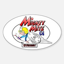 Dynamic Mighty Mite Decal (Oval)