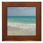 Ocean Front Framed Tile
