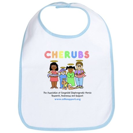 CHERUBS Logo - Pastel Bib