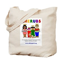 CHERUBS Logo - Bright Tote Bag