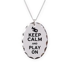 Keep Calm Baritone Necklace