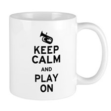 Keep Calm Baritone Small Mug