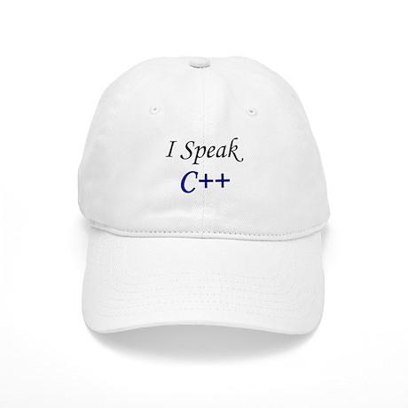 """""""I Speak C++"""" Cap"""