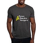 Future Starship Navigator Dark T-Shirt