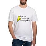 Future Starship Navigator Fitted T-Shirt