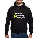 Future Starship Navigator Hoodie (dark)