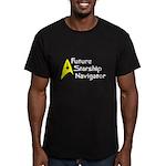 Future Starship Navigator Men's Fitted T-Shirt (da