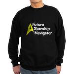 Future Starship Navigator Sweatshirt (dark)