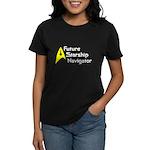 Future Starship Navigator Women's Dark T-Shirt