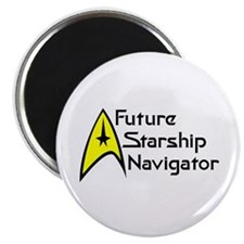 "Future Starship Navigator 2.25"" Magnet (10 pack)"