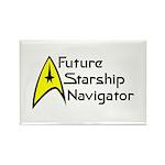 Future Starship Navigator Rectangle Magnet (100 pa