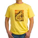 Yellow Splash English Trumpet Yellow T-Shirt