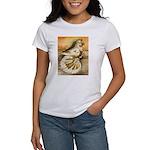 Yellow Splash English Trumpet Women's T-Shirt