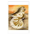 Yellow Splash English Trumpet Postcards (Package o