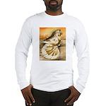 Yellow Splash English Trumpet Long Sleeve T-Shirt