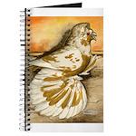 Yellow Splash English Trumpet Journal