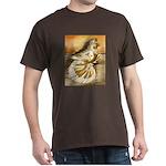 Yellow Splash English Trumpet Dark T-Shirt