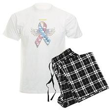 Winged CDH Awareness Ribbon Pajamas